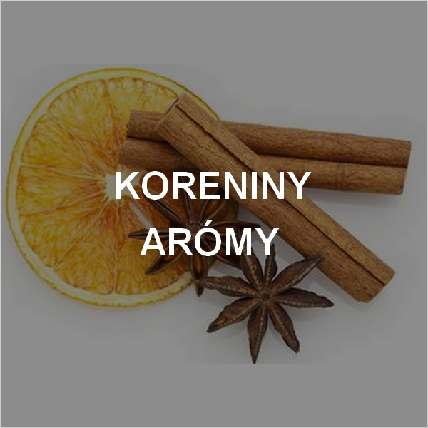 aromy a karoniny